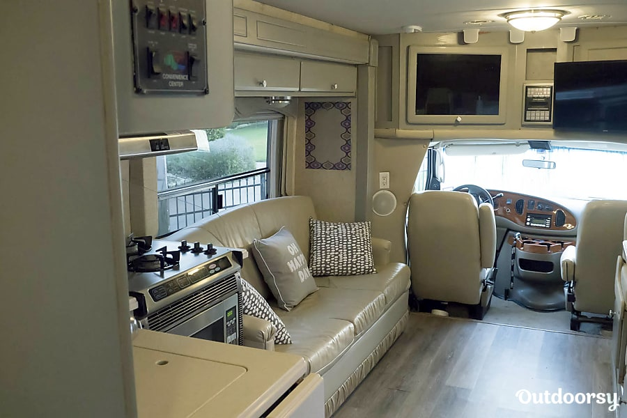 interior Matilda, A Stunning Updated Lake Cottage on Wheels, Not Your Regular Ole Boring RV McKinney, TX