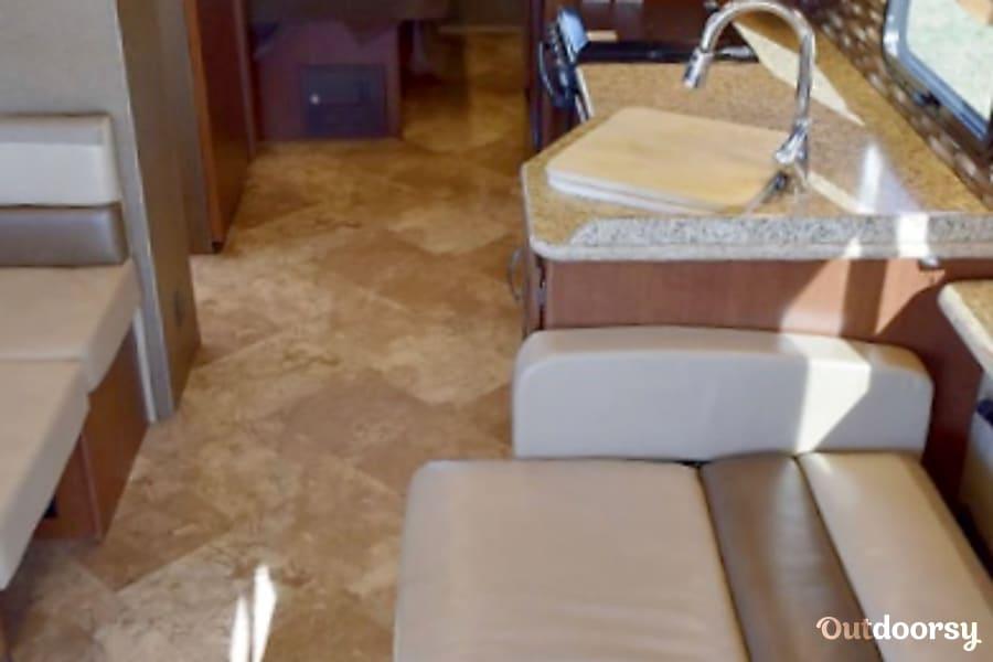 interior 2017 Thor Motor Coach A.C.E Fully Loaded Temecula, CA