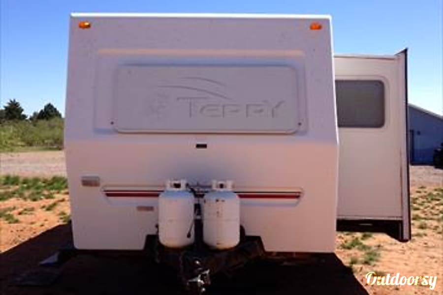 exterior Terry EX Camp Trailer $68 to $57.80 per day)  w/Slideout Whetstone, AZ