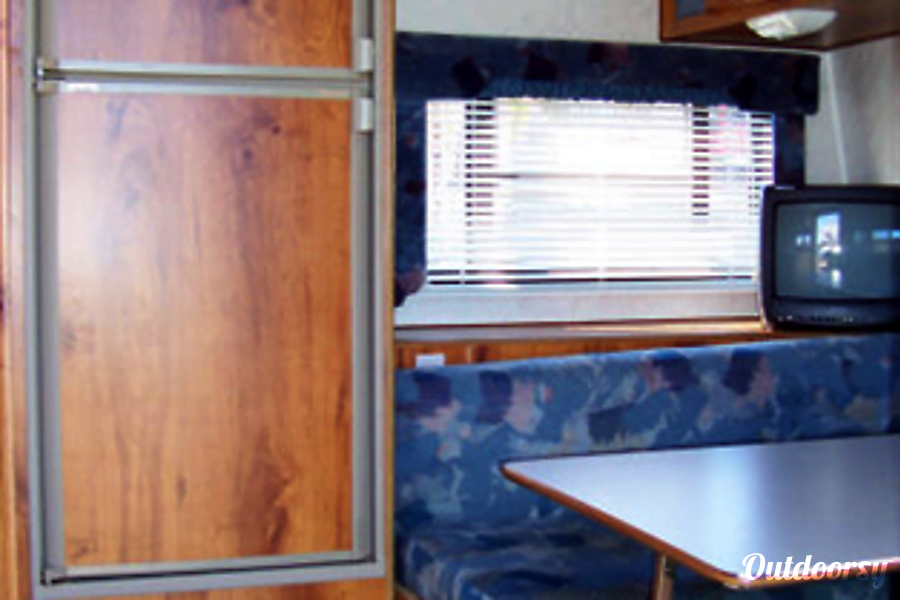 interior Layton Camp Trailer Whetstone, AZ