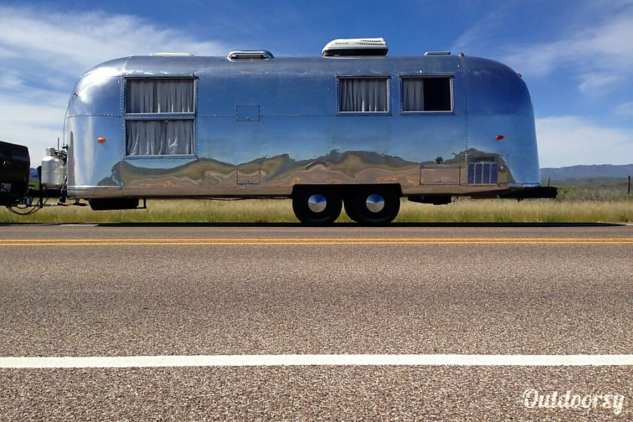 "1964 Airstream Overlander: ""Lucy"" Jemez Springs, NM"
