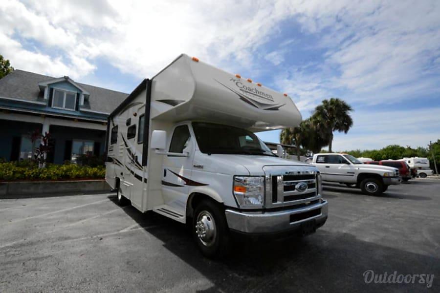 2015/2016 Coachmen Freelander 21 QB Happy Camper RV rental#1 Lake Worth, FL