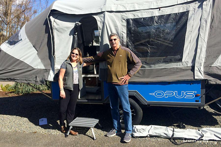 2016 Opus Folding Camper Gig Harbor, WA