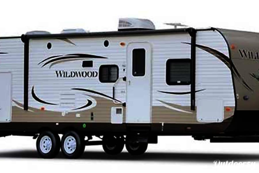 26' Wildwood Trailer w/3 Bunks & Slide-Out (T9) San Marcos, CA