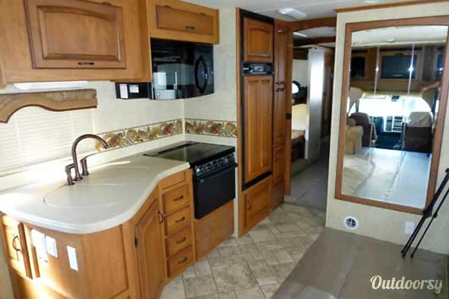 36' Jayco Seneca Diesel w/Two Slides + Bunk Beds (43) San Marcos, CA Galley Kitchen