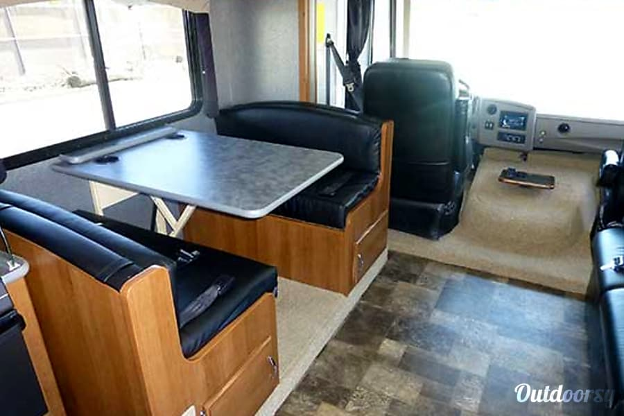 32' Storm w/Two Slides & Bunk Beds (44) San Marcos, CA Dinette / Double bed