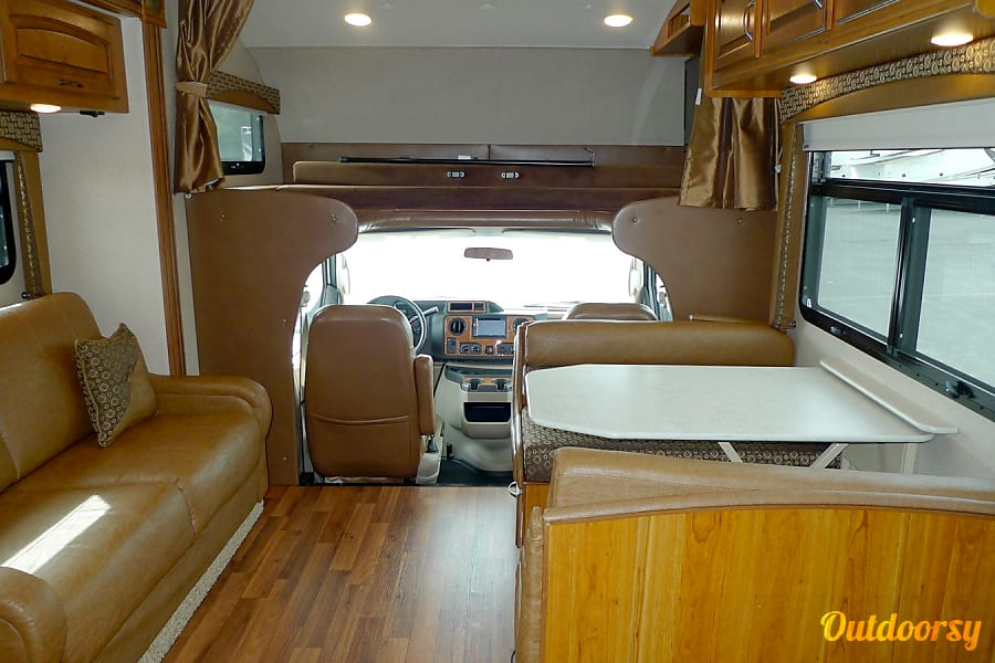 interior 2016 Jayco Greyhawk 31FS Bunkhouse Chelsea, MI