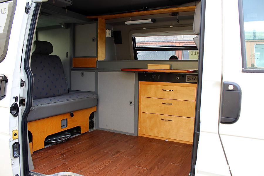 1997 Volkswagen Eurovan Motor Home Camper Van Rental In