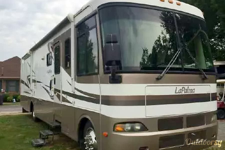 2003 monaco lapalma motor home class a rental in pensacola fl outdoorsy. Black Bedroom Furniture Sets. Home Design Ideas