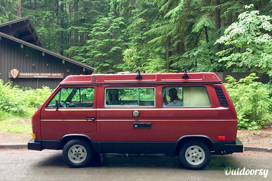 Peace Vans #4: Ohanapecosh -  Vanagon Full Camper Seattle, WA