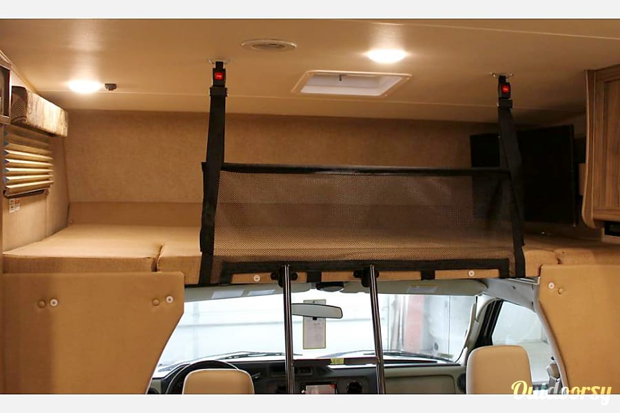 2017 Coachmen Freelander 31BH with bunk beds South Salt Lake, UT The cab-over area is great for cargo or sleeping.