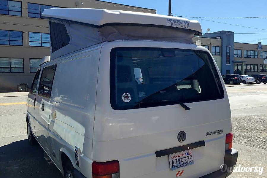 Peace Vans Rentals #8: Quinault - Eurovan Full Camper Seattle, WA