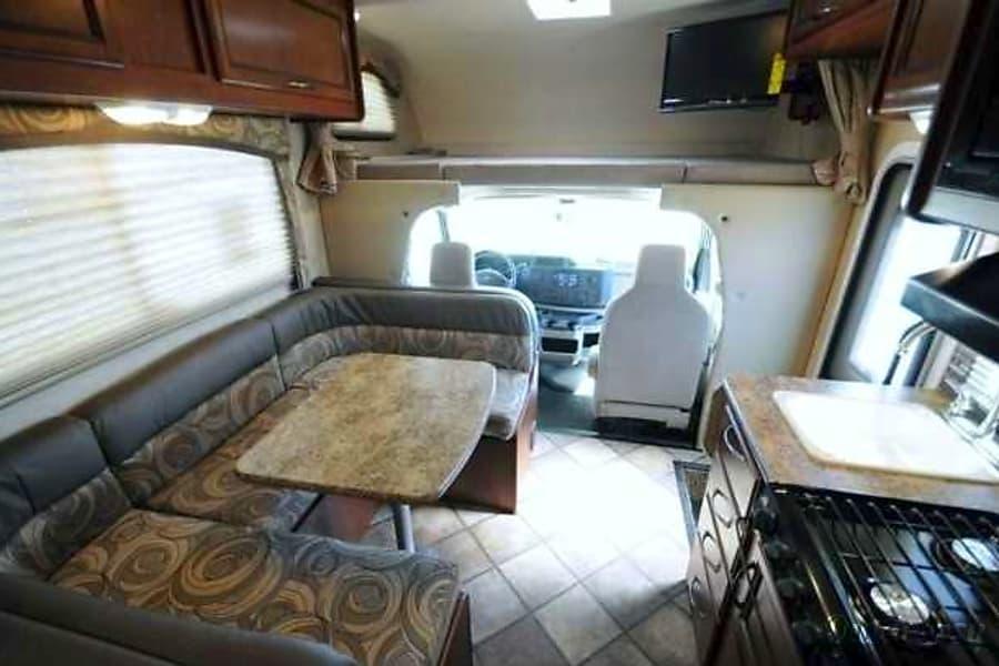 interior 2014 Thor Motor Coach Chateau Holmen, WI