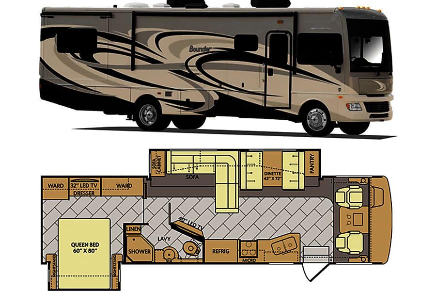 Class A - 2014 Fleetwood Bounder 33C Marietta, GA