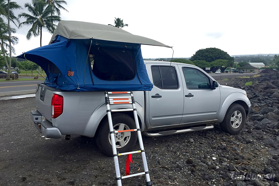 2005 Nissan Frontier 4wd Crew Cab Motor Home Truck Camper