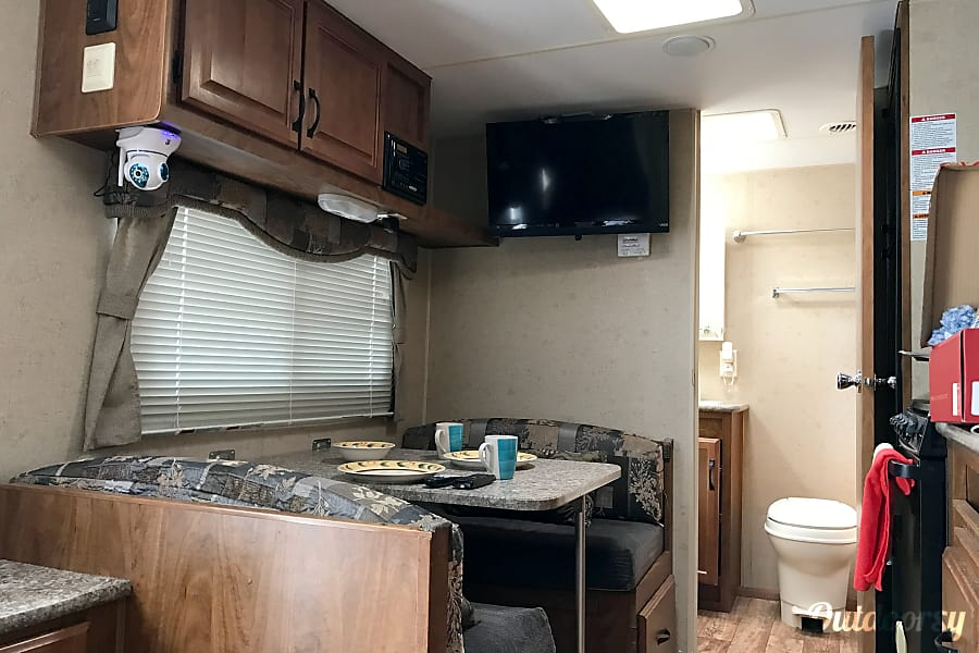 2013 Outdoor Back Country Travel Trailer Los Angeles, CA View of dinette to the bathroom