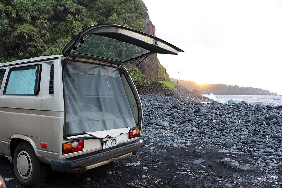 exterior 1990 Volkswagen Vanagon Haiku, HI