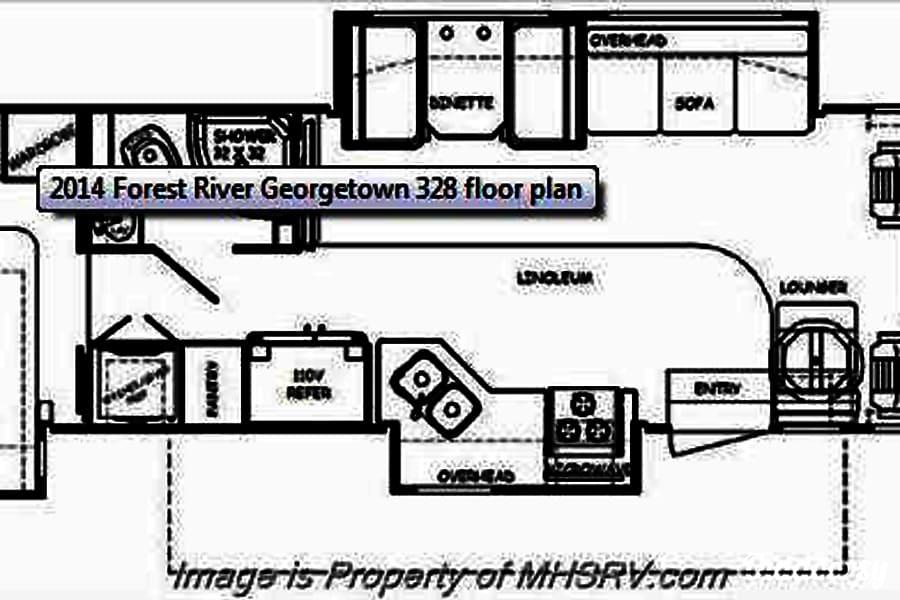 2014 Forest River Georgetown 328 #302 Austin, TX