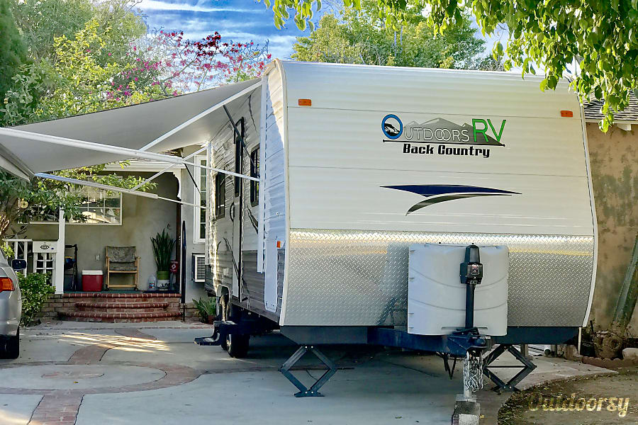 exterior 2013 Outdoor Back Country Travel Trailer Los Angeles, CA