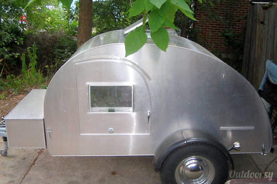 2004 Custom Teardrop Camper Trailer Rental In Boulder Co