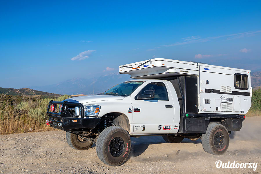 exterior 2015 Four Wheel Campers Hawk Flatbed Fruita, CO