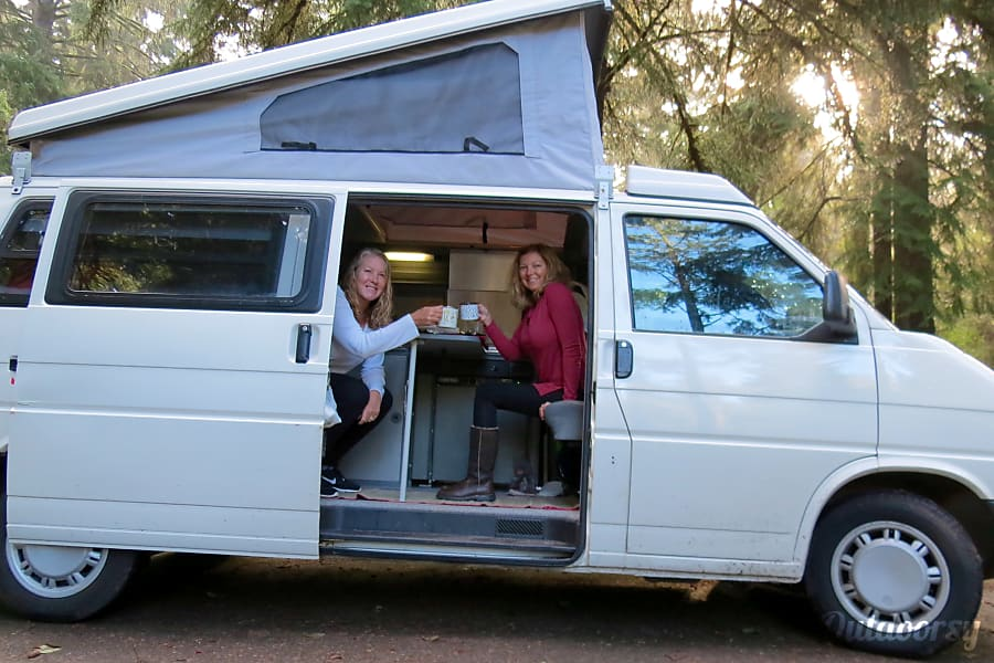1999 volkswagen eurovan motor home camper van rental in seattle
