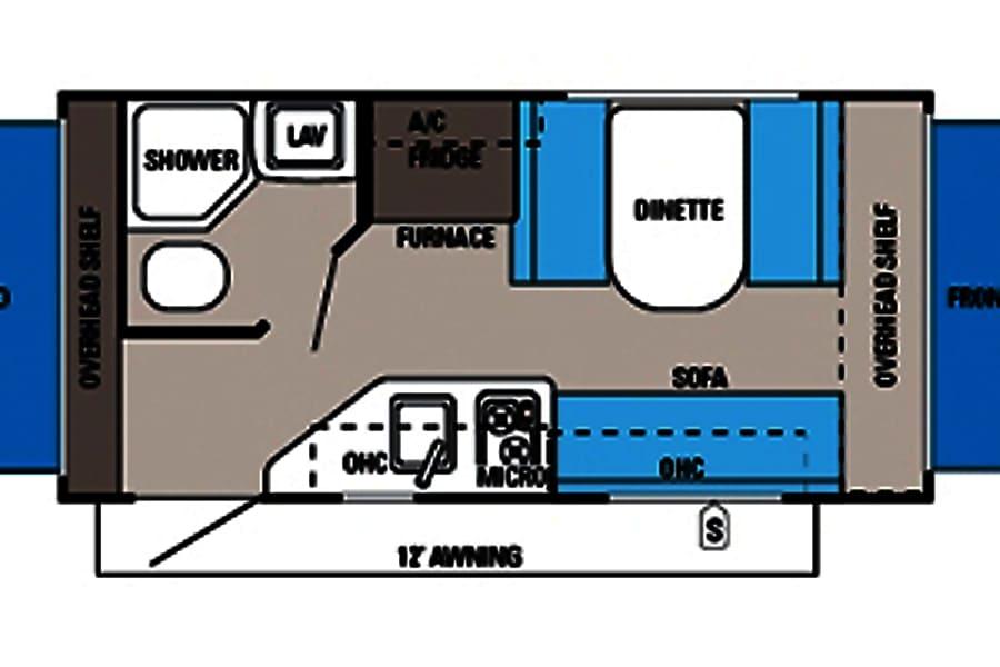 #32 2014 Jayco Jayfeather Ultra-Lite 16 XRB Camper Bradenton, FL