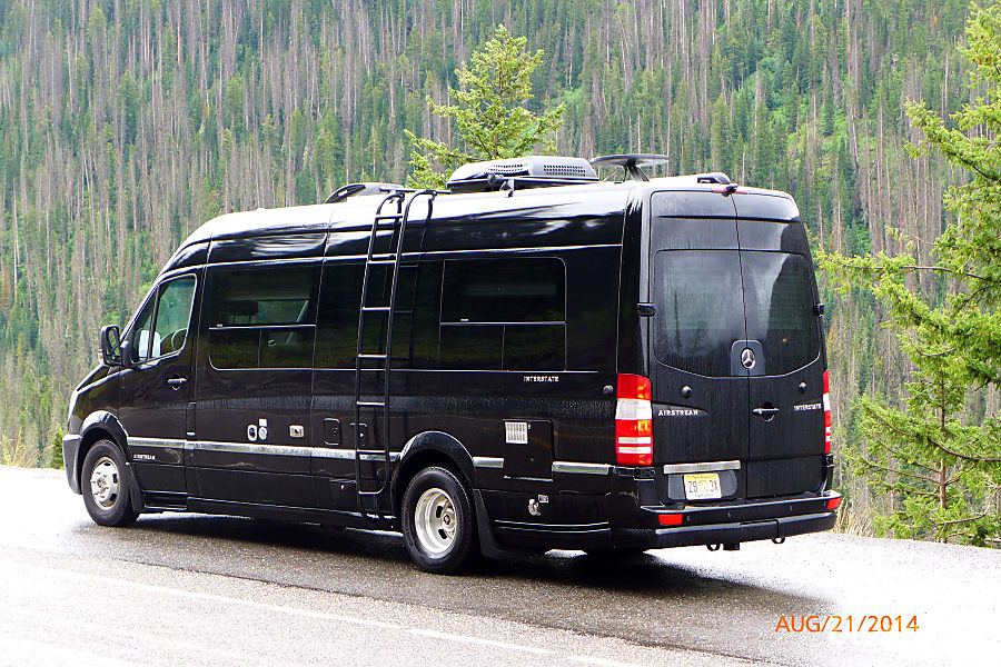 2014 AIRSTREAM INTERSTATE 9 Lounge Extended (Mercedes Benz 9 Passenger) Tenafly, New Jersey Yellowstone