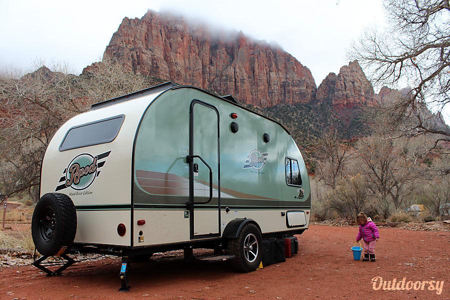 exterior R-Pod Ready for Adventure! Salt Lake City, UT