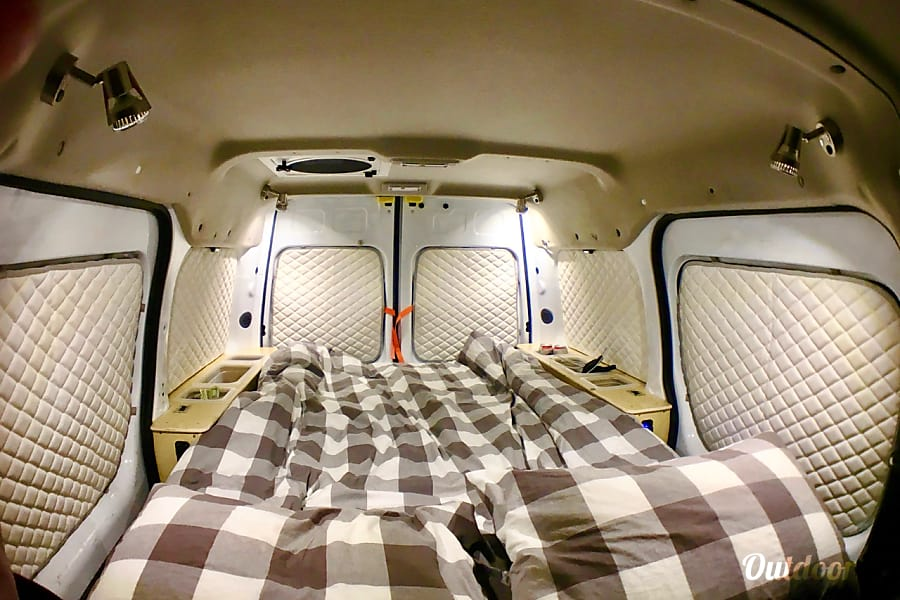 interior Woogie--2013 Glampervan Model 2S San Francisco, CA