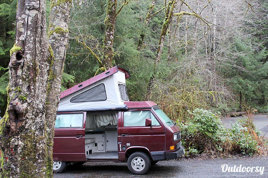 Peace Vans #5: Pilchuck - Vanagon Full Camper Seattle, WA