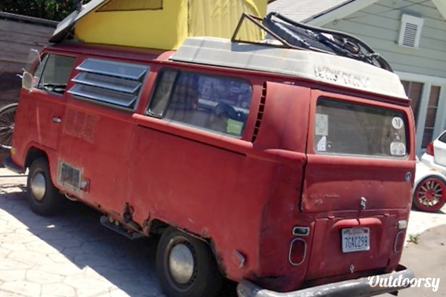 exterior 1971 Westfalia Campmobile Los Angeles, CA