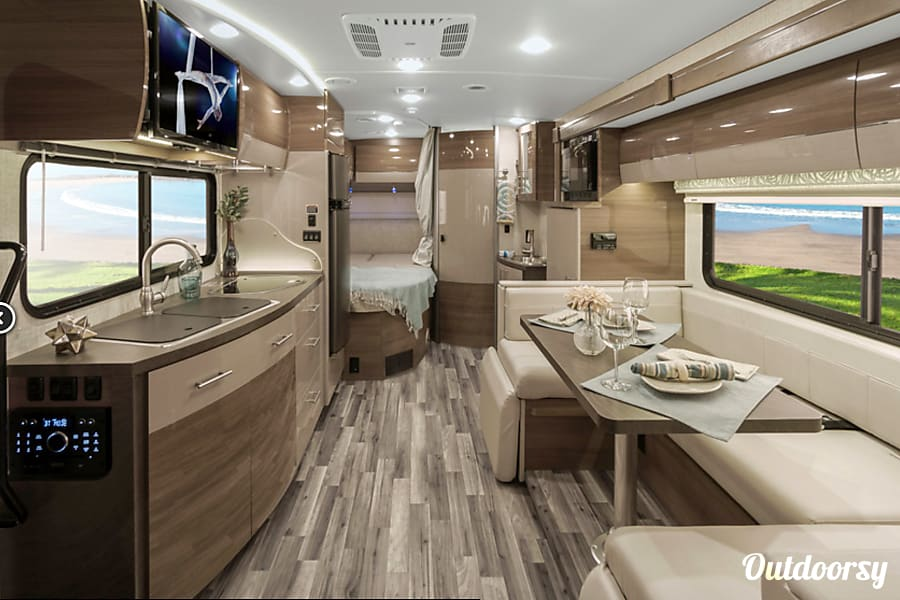 interior 2017 Winnebago View 24J Capitola, CA