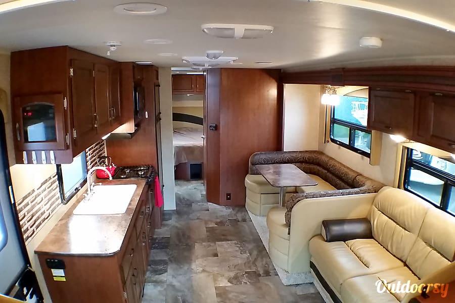 interior 2015 Jayco Redhawk 32' Lynnwood, WA