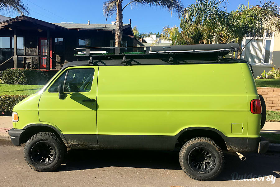 exterior Green Machine with Turf Rooftop! San Diego, CA