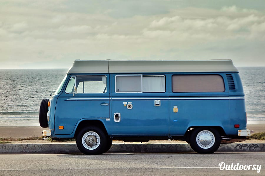 Bluie - 1979 Volkswagen bus Los Angeles, CA