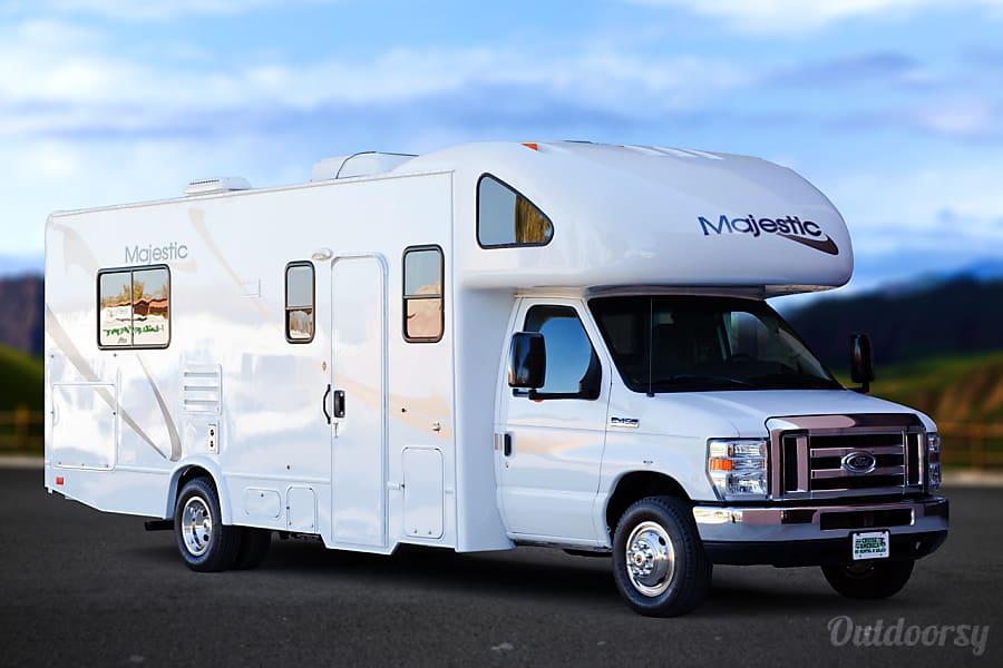 exterior 2012 Thor Motor Coach Majestic 27G Hammond, LA