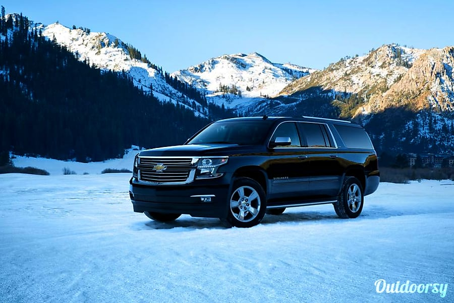 exterior Darth Vader: 7 Passenger Mountain Machine 4WD perfect for Skiing and Biking and Camping Denver, CO