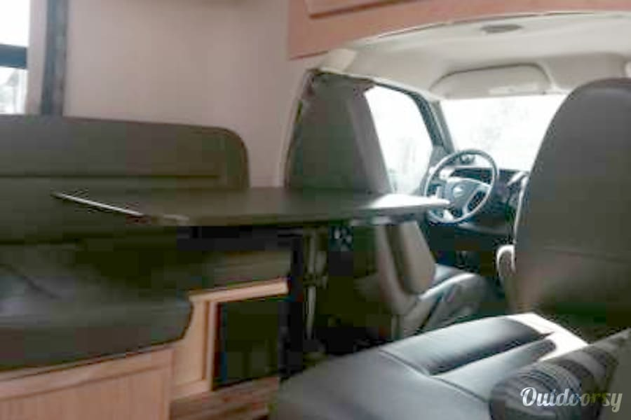 interior Fully loaded, extemely easy to drive 2012 Leisure Travel Van Libero. Mission Viejo, CA