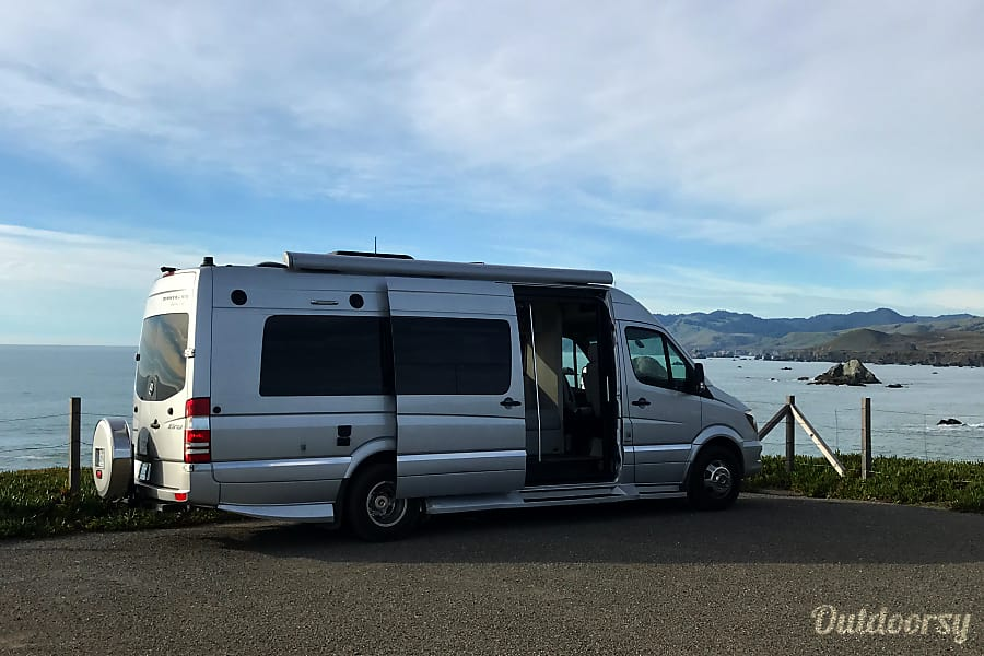 exterior Luxury Camper Van, Travel in Style! Healdsburg, CA