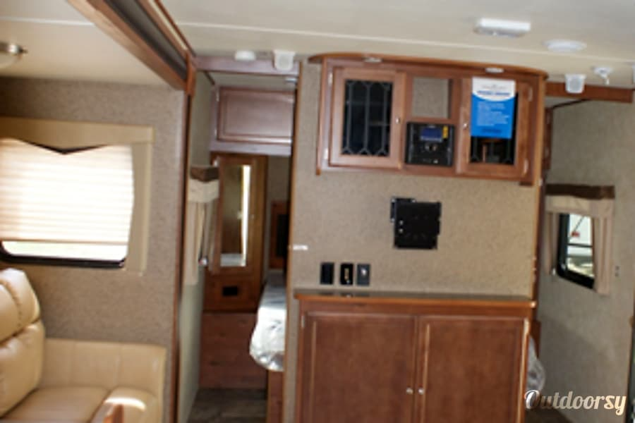 2015 Gulf Stream 29 BIK Midland, MI 29BIK Entertainment Center