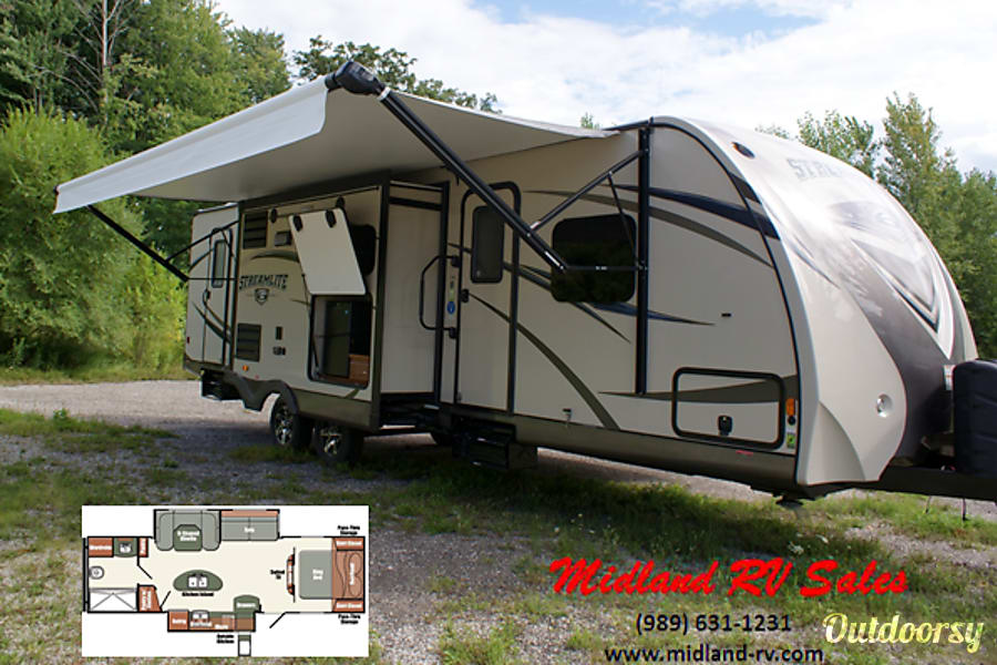 2015 Gulf Stream 29 BIK Midland, MI 29BIK Exterior - Outside View