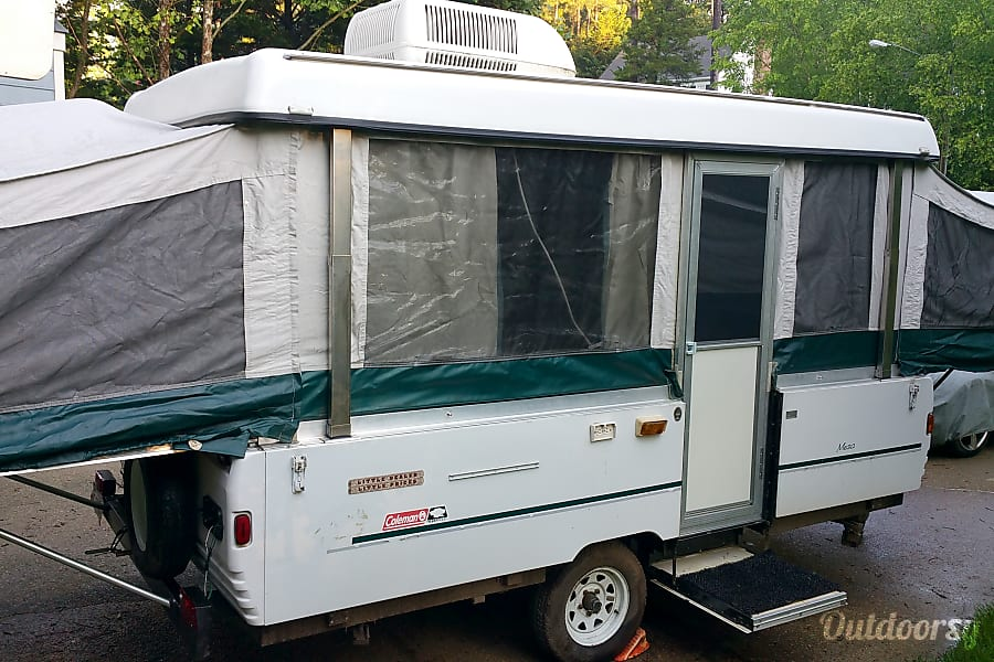 1998 Coleman Mesa Trailer Rental In Raleigh Nc Outdoorsy