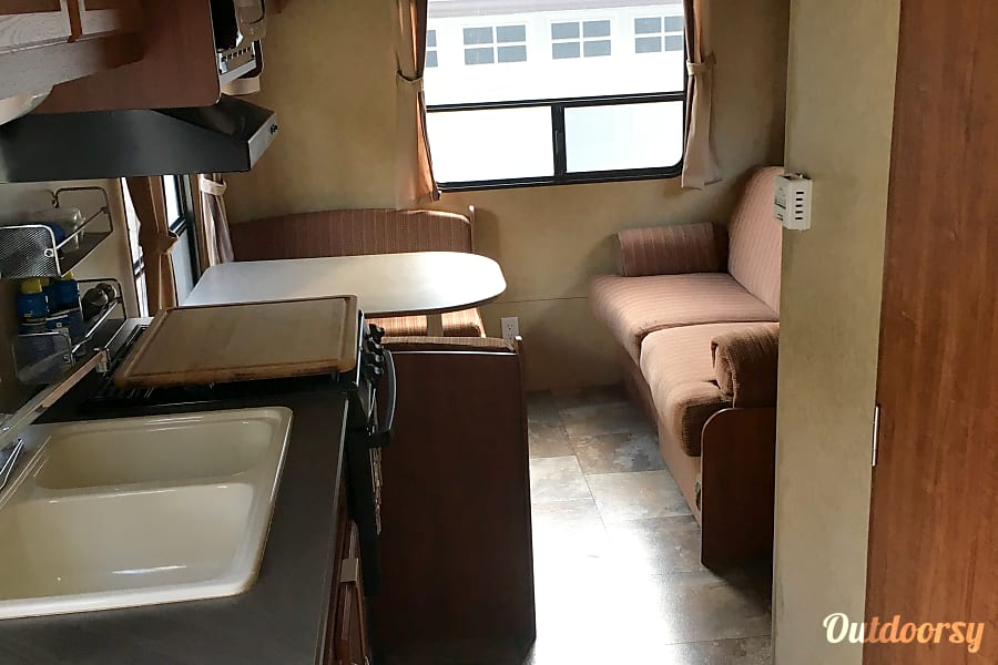 interior 20 ft. 2013 Jayco Jay Flight Swift 198RD Liberty Hill, TX
