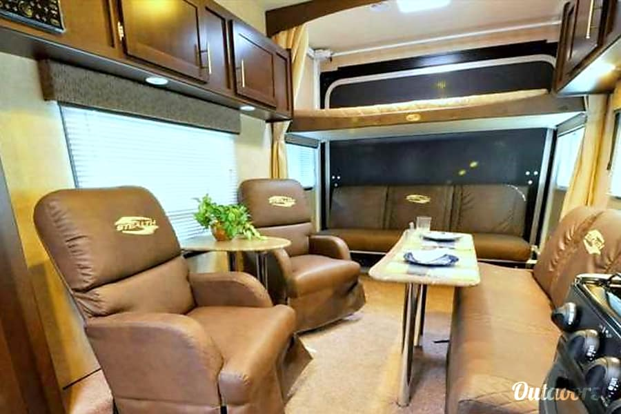 interior 2015 Forest River Stealth Hesperia, CA