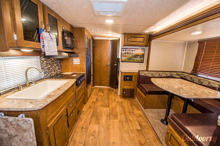 interior 2017 Forest River Wildwood X-Lite 230BHXL Seffner, FL