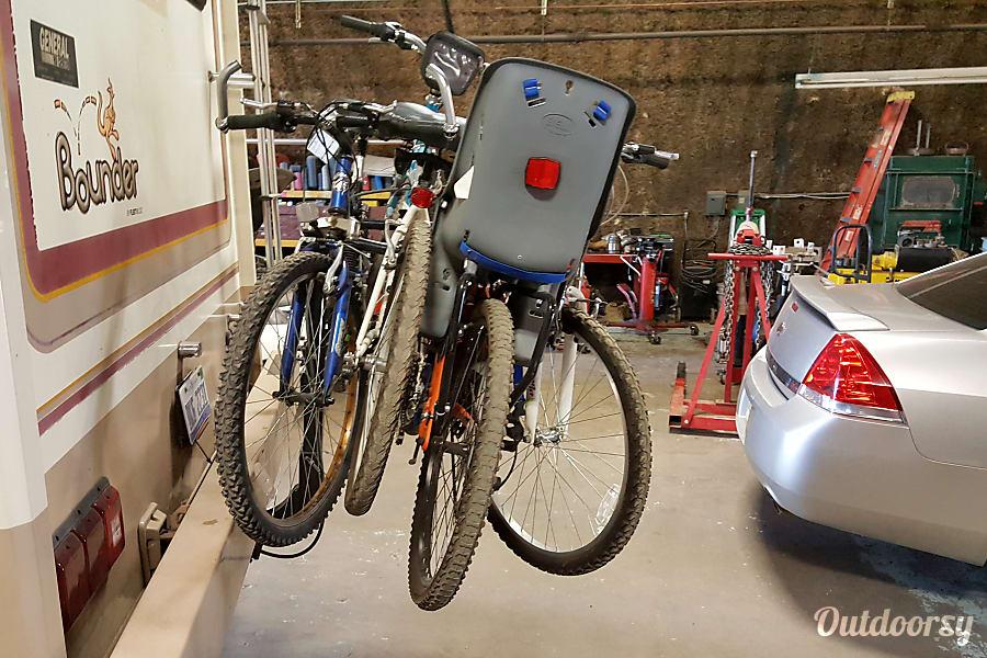 1995 Fleetwood Bounder Livonia, MI Optional Bike Carrier Rack