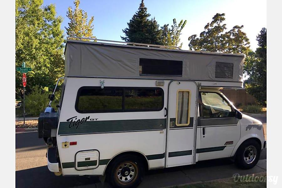 exterior Campervan Adventures start here! Meet Toni the All-Wheel Drive Tiger... Denver, CO
