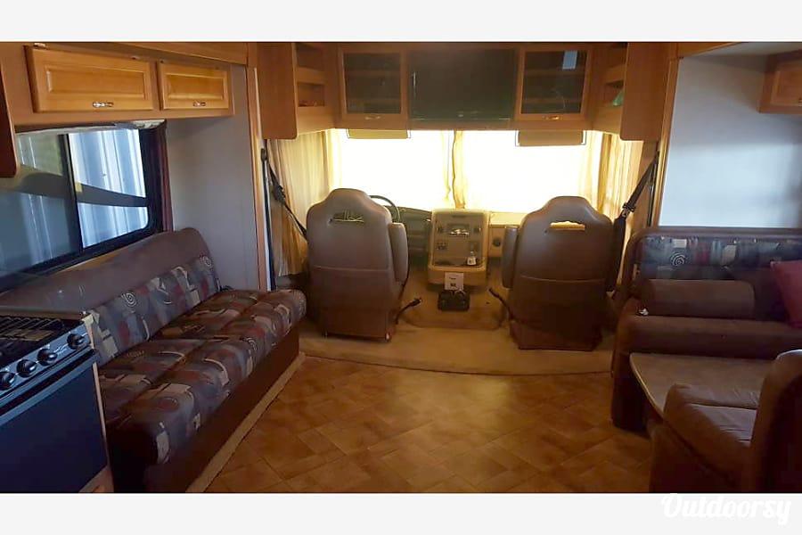 interior 2007 Monaco Riptide Seguin, TX