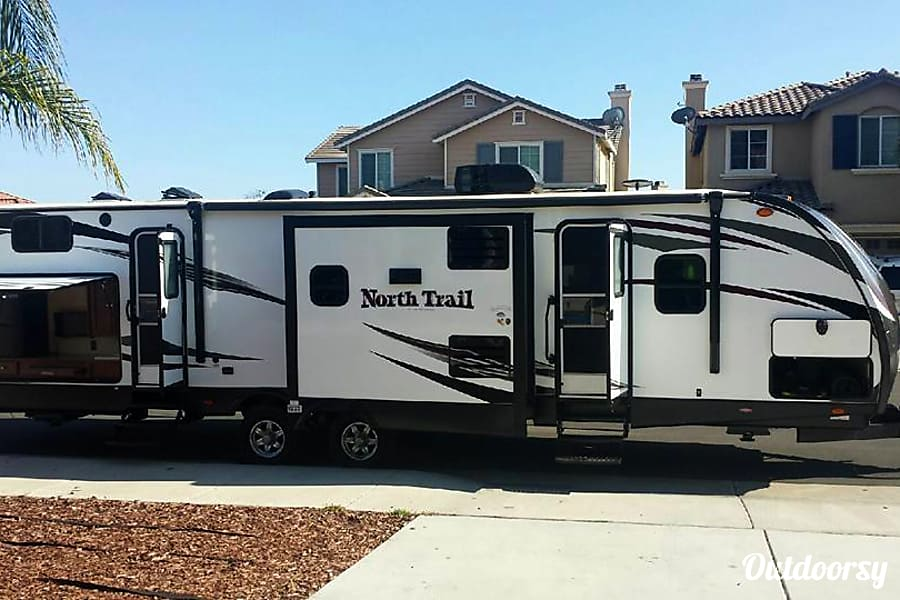 2016 Heartland North Trail Trailer Rental In Murrieta Ca